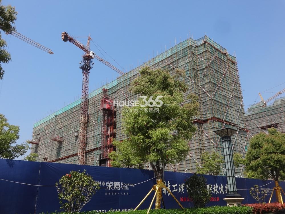 高科荣境25号楼实景图(4.15)