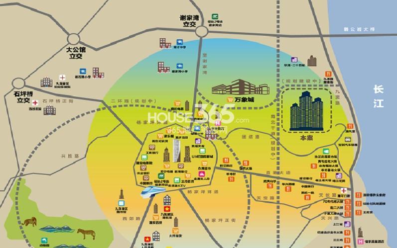 东原九城时光交通图