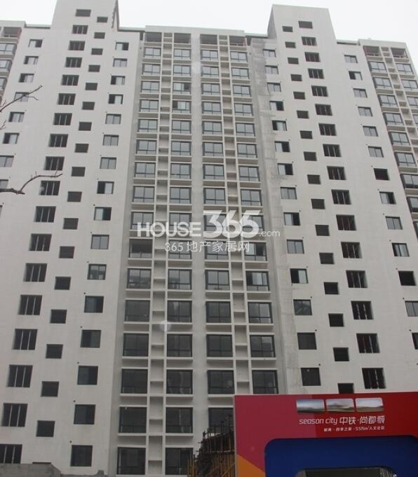 中铁尚都城23#楼施工进度(2014.2.26)
