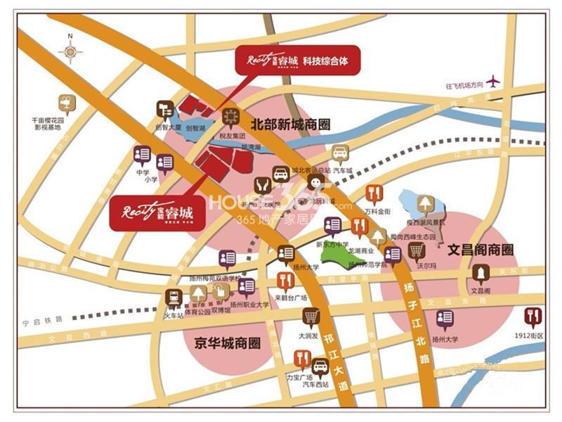 宝能睿城交通图