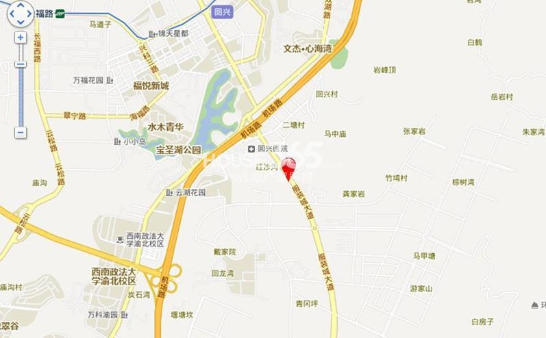 旭辉翡翠公馆交通图