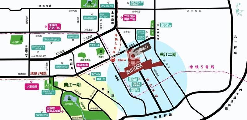 海伦国际交通图