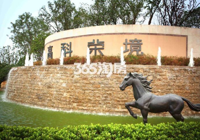 高科荣别墅区景观实景图(9.26)