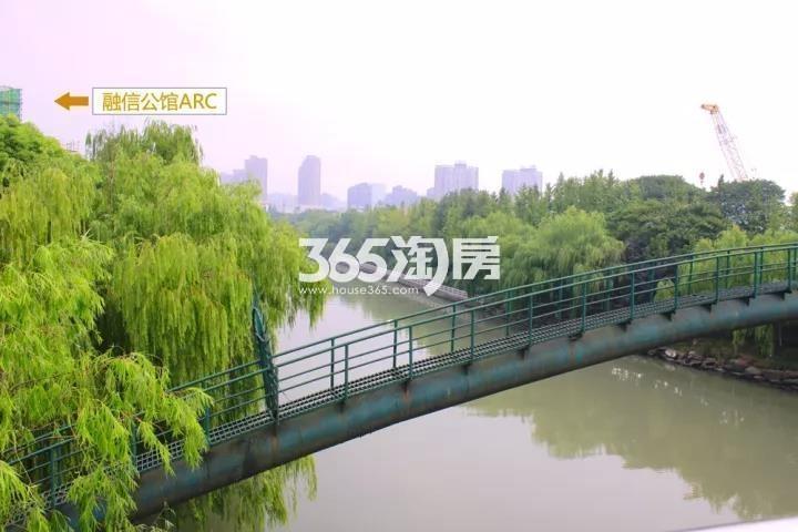 2017年9月融信公馆ARC项目周边余杭塘河