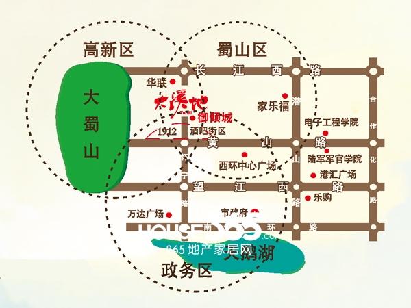 大溪地交通图