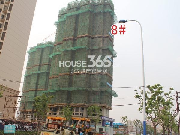 华润国际社区工程进度实景图(2014.8)