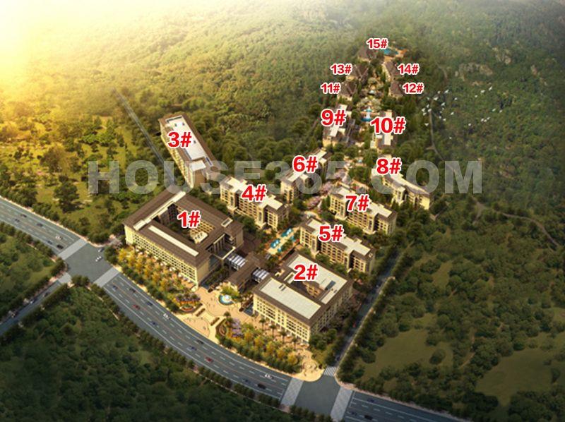 钱江西溪和景鸟瞰图