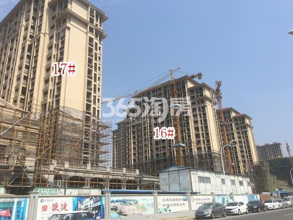 长泰国际社区南地块高层16#、17#楼实景图(2018.6 摄)
