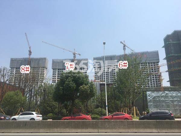 蓝光雍锦园实景图