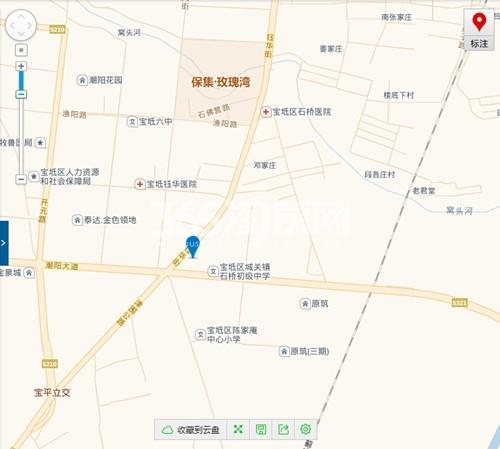 玺悦峰交通图