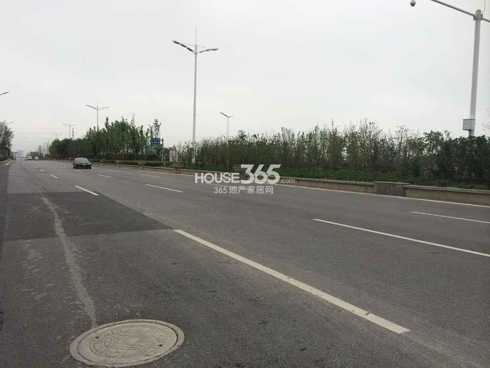 东方万汇城周边道路实景图(9.24)