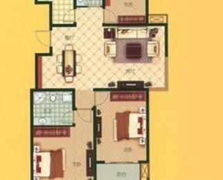 瑶海元一时代广场 双地铁口旁两室朝南 精装15万 双学区 拎包住