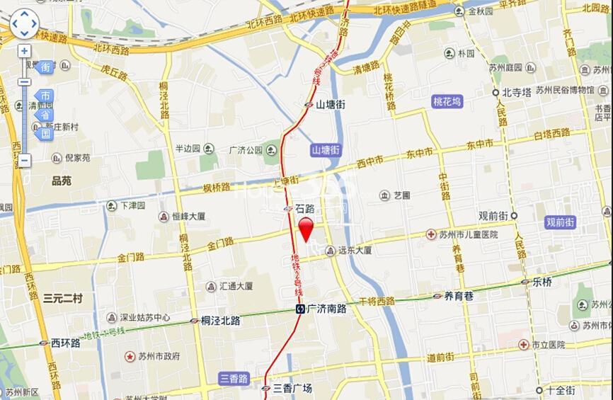 美泰美商业广场交通图