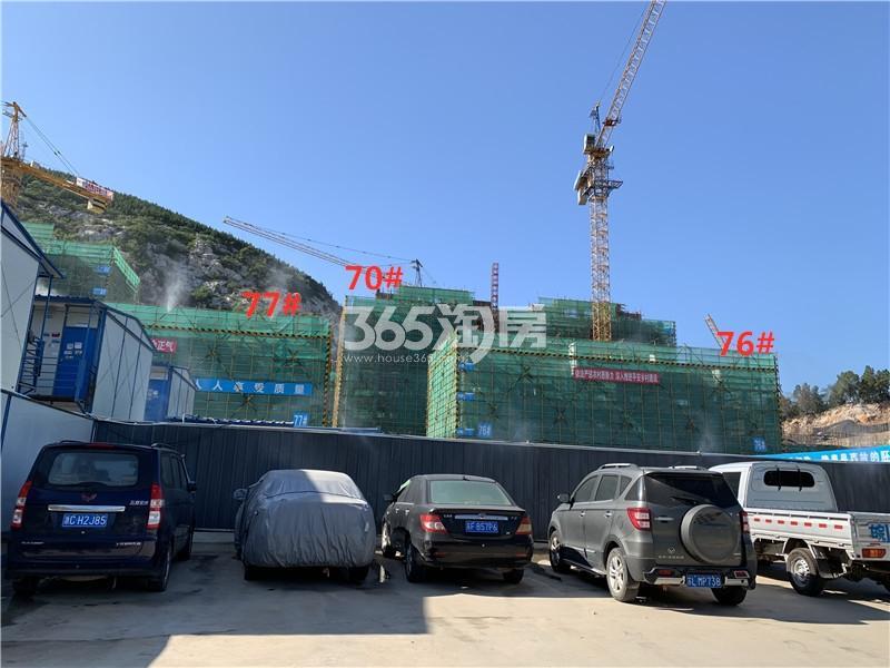 万科弘阳结庐70、76、77#实景图(8.29)