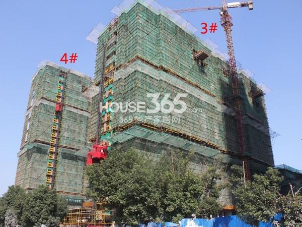 路劲城3#、4#楼工程进度实景图