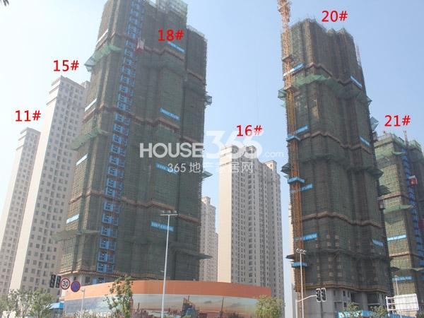 华润国际社区工程进度全景图(2014.10)