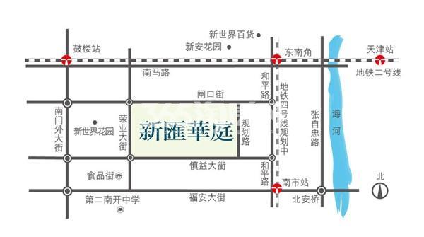 新汇华庭交通图