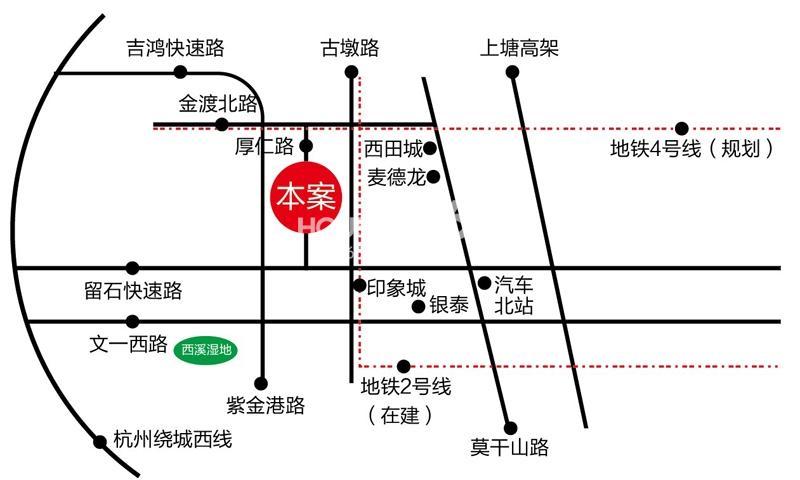 三墩新天地香港城交通图
