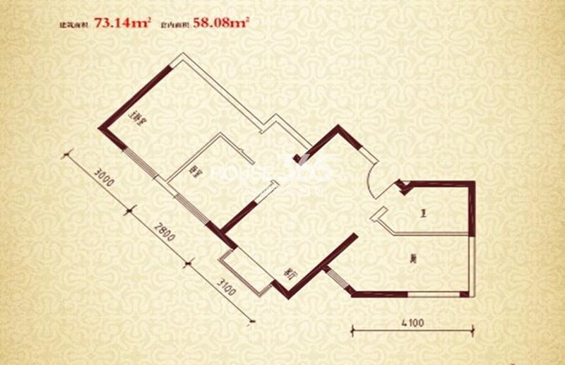 珠江新城二期户型图