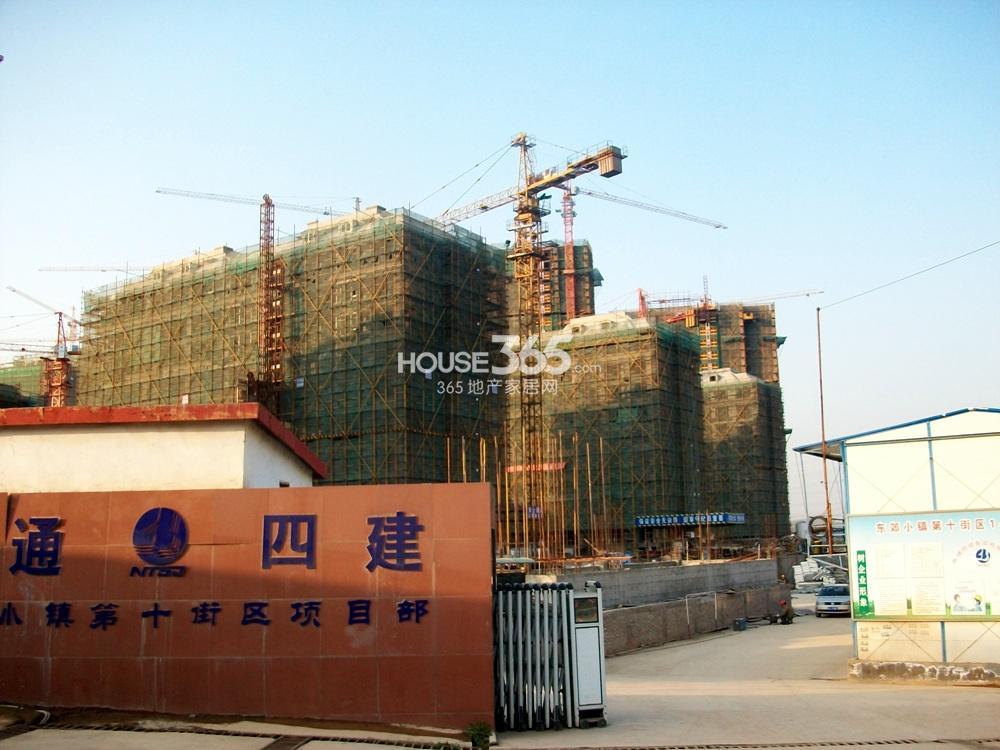 东郊小镇10街区在建楼栋实景图(11.20)