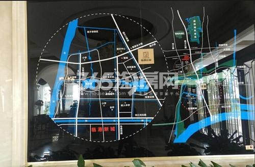 蓝爵庄园交通图