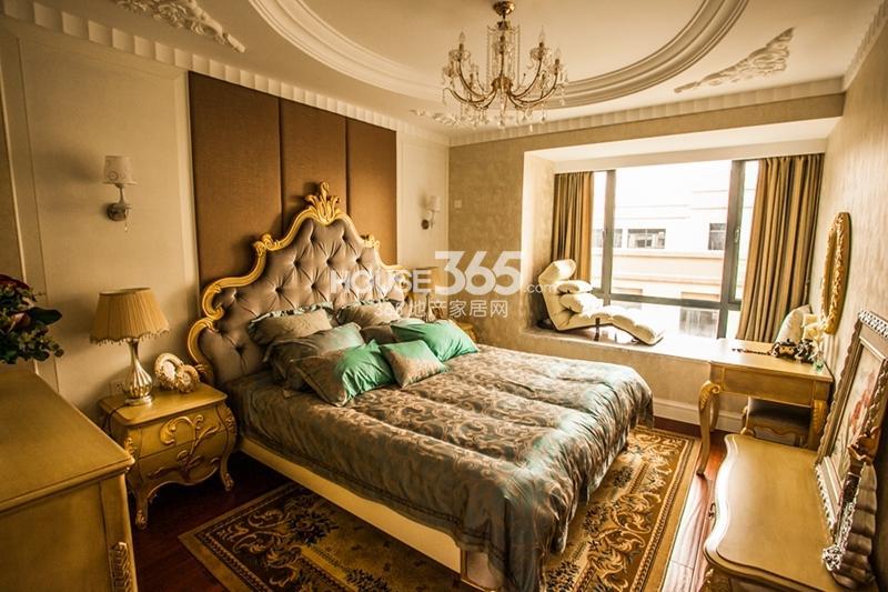 金都檀宫120平样板间-卧室