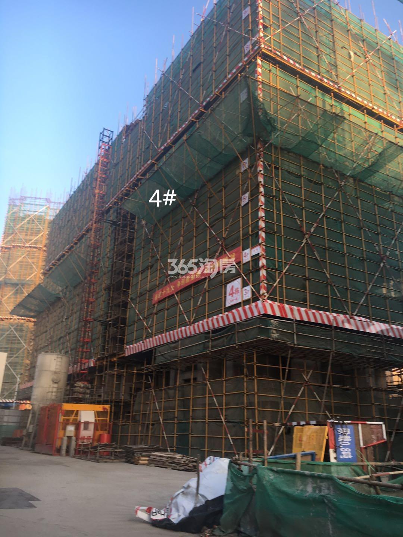 江山薈4号楼实景图(1.19)
