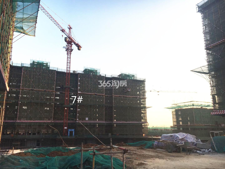 江山薈7号楼实景图(1.19)