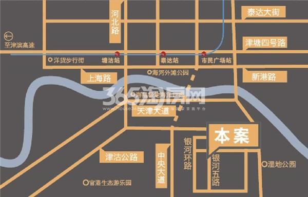 青果青城交通图