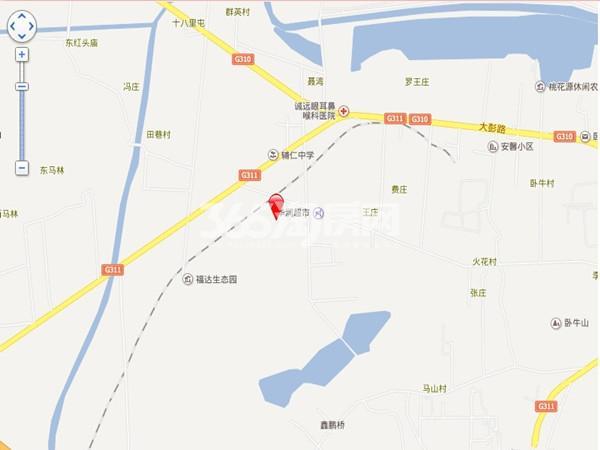 恒泰山水文园交通图