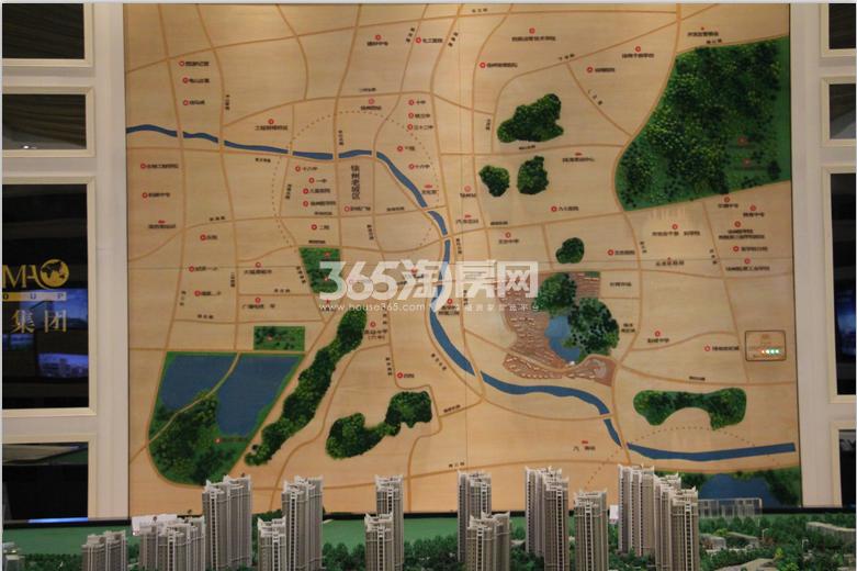 世茂东都天城交通图