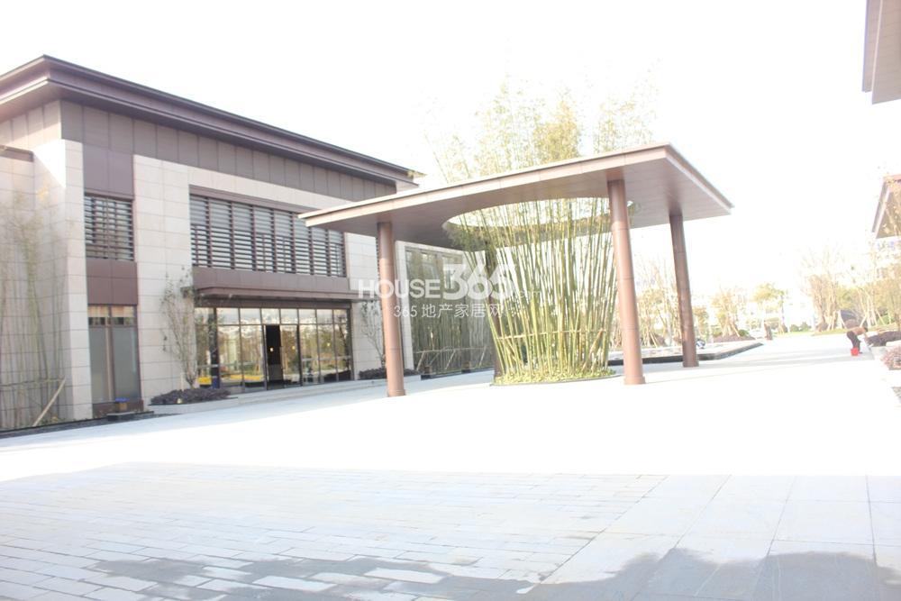 朗诗太湖绿郡售楼处实景图2014.12.1