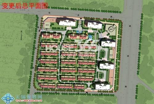 中建·城中墅平面图
