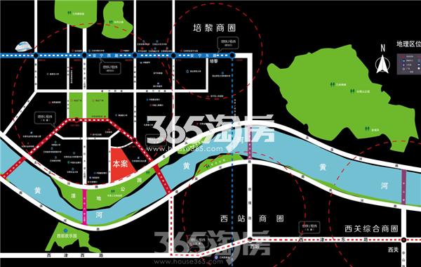 永新华世界湾交通图