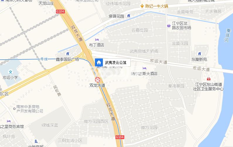 武夷凌云公馆交通图