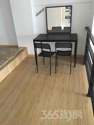 万科金域广场1室2厅1卫42平米整租精装
