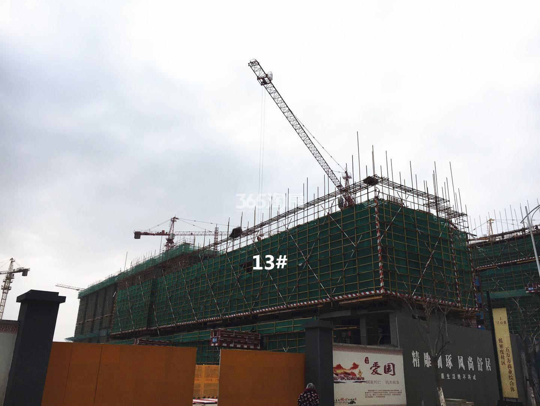 江山薈13号楼实景图(3.19)