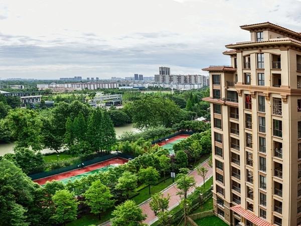 鹭湖宫8区平层小院实景图