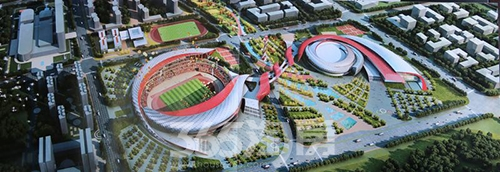 蚌埠体育场馆建设情况