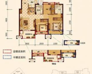 上实海上海3室2厅2卫88平米整租中装