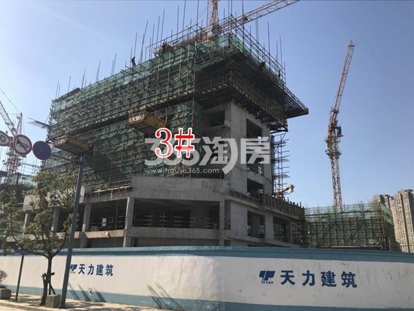 富力运河十号小高层3#楼实景图(2017.10 摄)