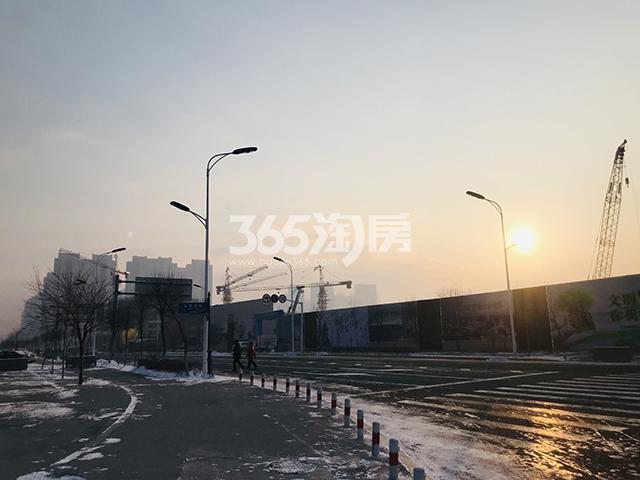 万科 · 滨江大都会实景图
