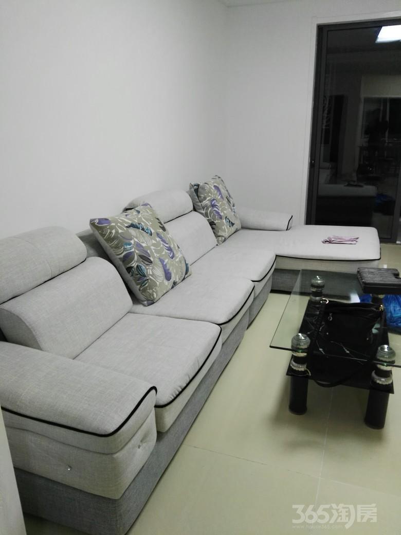 句容世茂花园2室2厅1卫100平米整租精装