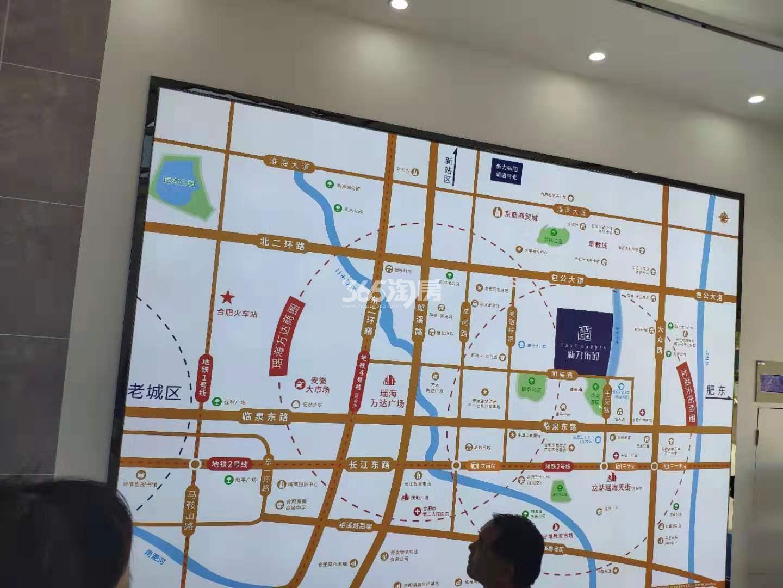 新力东园项目售楼处内部实景(2019.7.21)