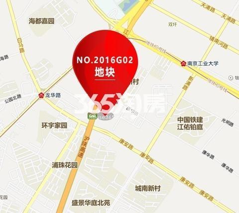 中建江浦G02地块交通图