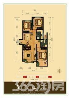祥云里3室2厅1卫113平米2017年使用权房毛坯