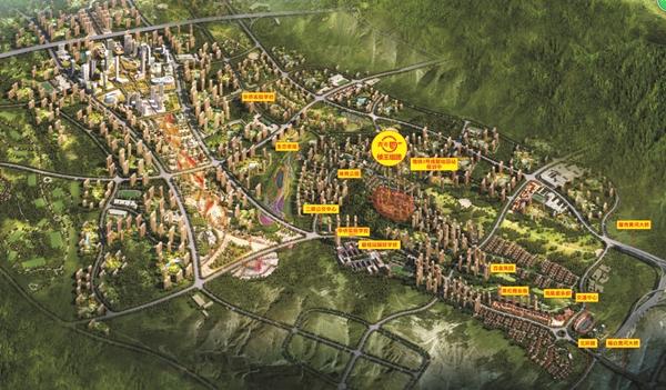 兰州碧桂园鸟瞰图