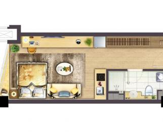 腾讯联手打造 高端智能青年 优质社区 精装修 拎包入住 智能家居
