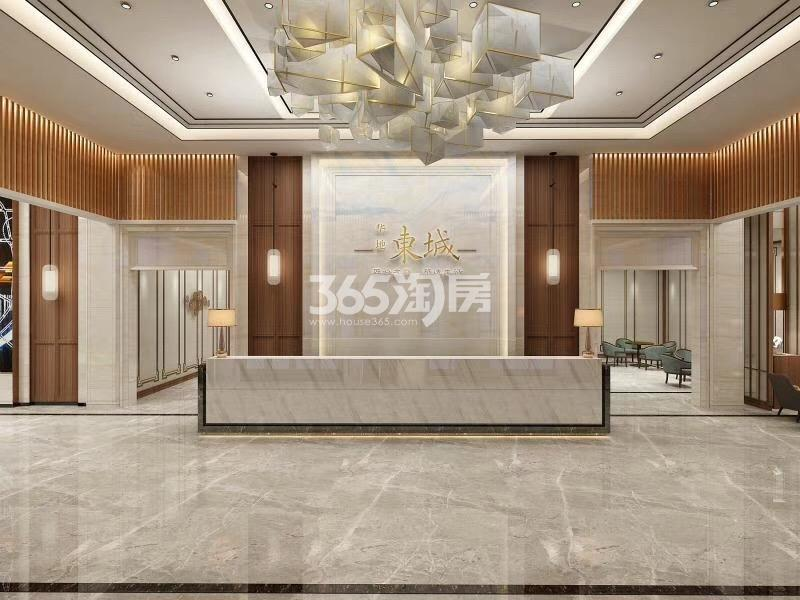 华地东城售楼部3D效果图