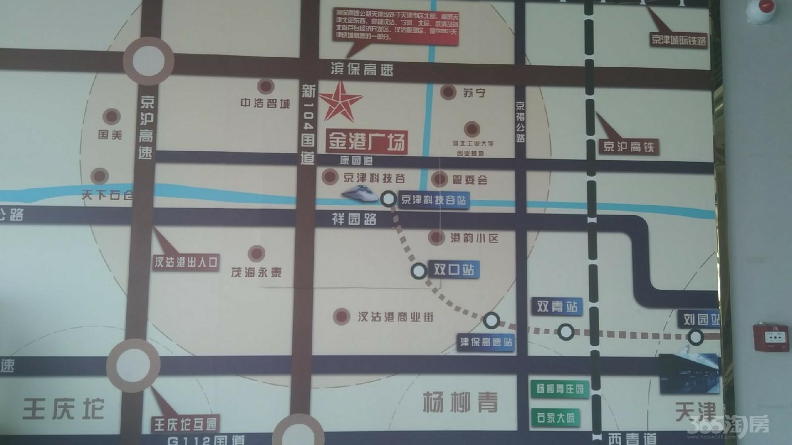 金港广场1室0厅1卫39.5平米2015年产权房精装